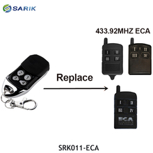 ECA garage gate controller handheld transmitter compatible with ECA 433.92mhz remote control rolling code garage command