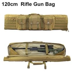 47 ''120 Cm Senapan Militer Gun Case Tas Molle Kantong Taktis Bahu Pack Senapan Airsoft Berburu Molle Tas Tangan membawa Pack