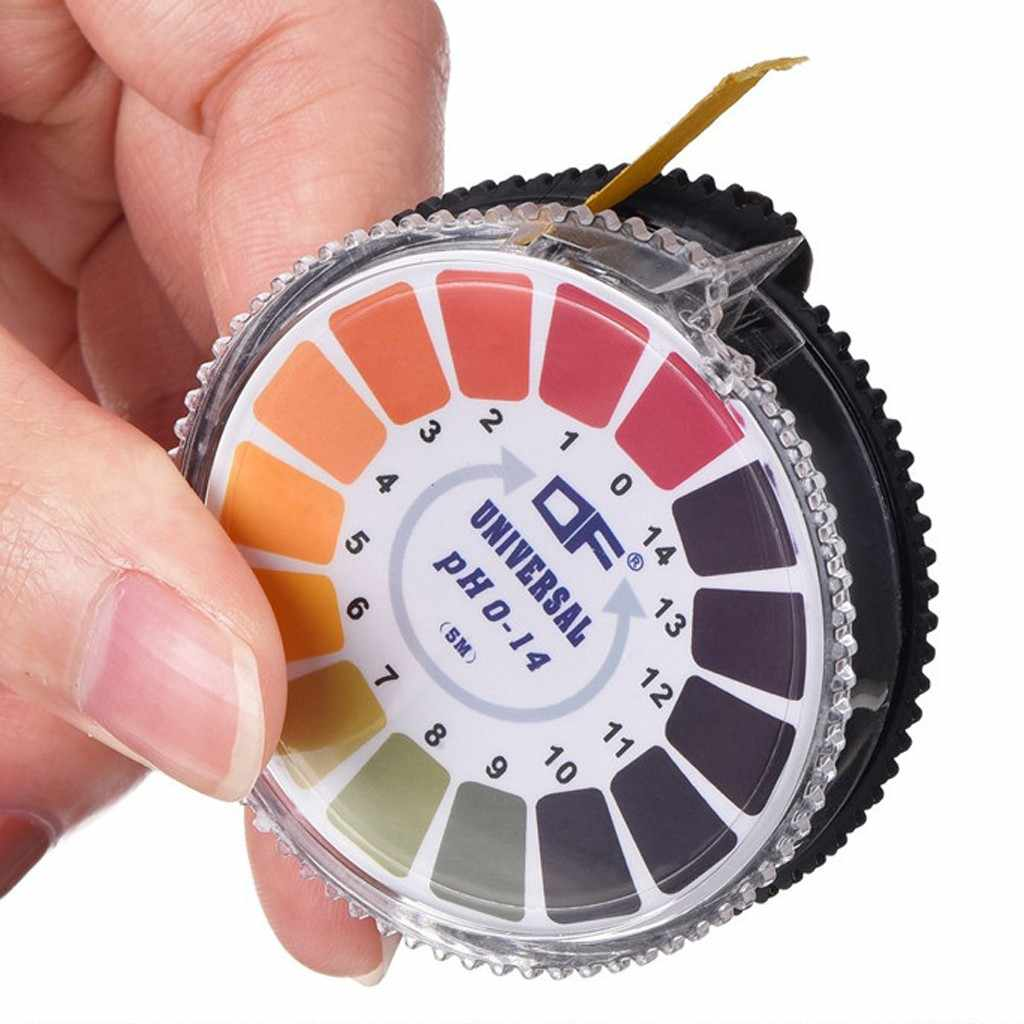 PH Test Strips 5M Professional 1-14 PH litmus กระดาษ PH Test Strips น้ำเครื่องสำอางค์ความเป็นกรด Test แถบควบคุม # P8
