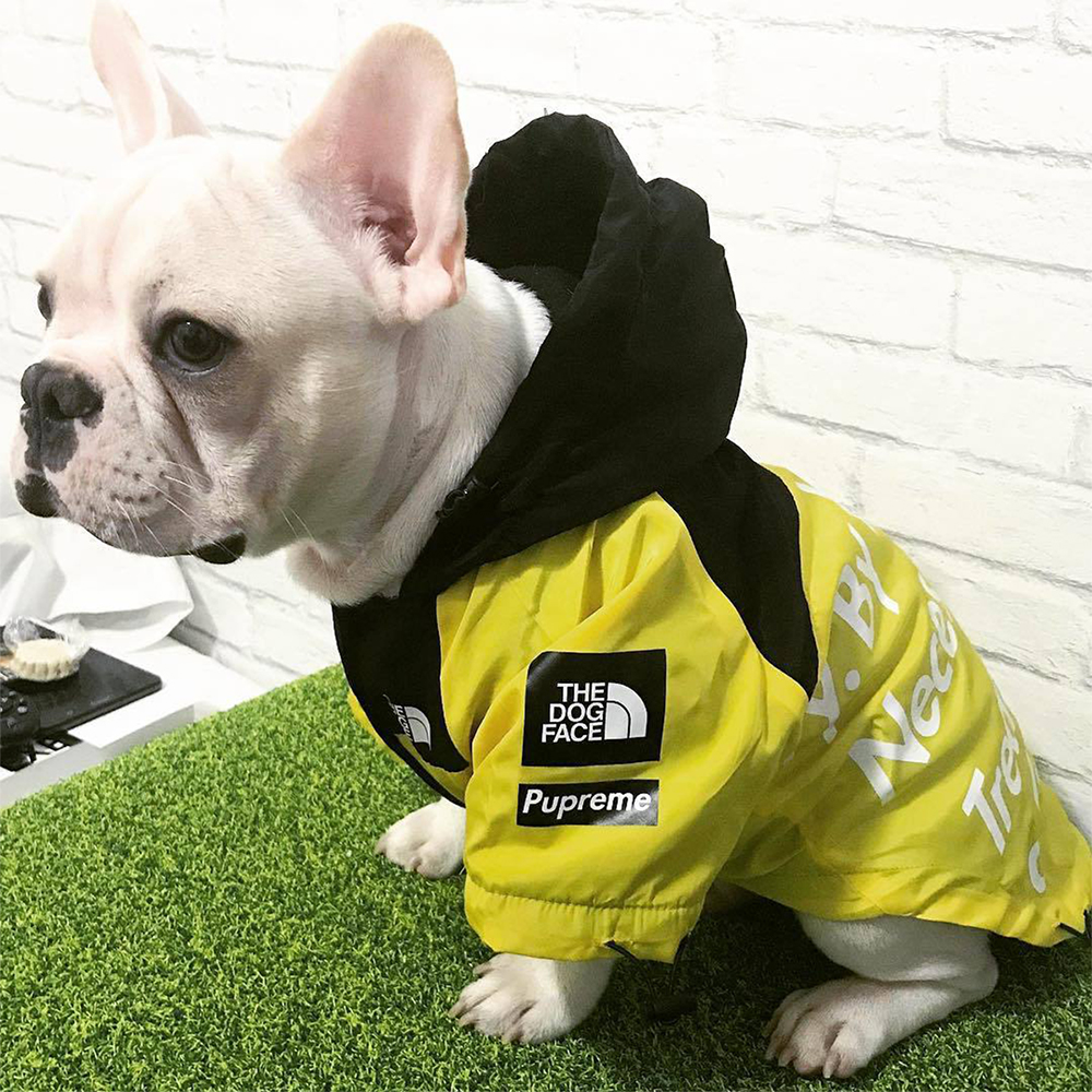 Winter Windproof Waterproof Dog Clothes Fashion Dog Jacket For Medium Large Dogs Labrador Pet Clothing Bulldog