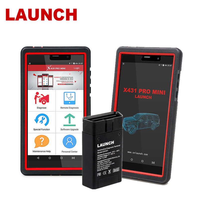 LAUNCH X431 Pro Mini OBD2 Scanner Full system Car Diagnostic Tool WiFi/Bluetooth OBD2 Scanner Support Almost all Cars Workshop