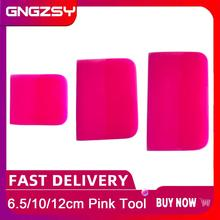 Nieuwe Roze Zuigmond Tpu Ppf Oxford Schraper Voor Auto Kleding Transparante Film Vinyl Wrapping Verf Beschermende Film Gereedschap B77 B72