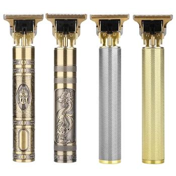 T9 elektryczna maszynka do strzyżenia włosów golarka akumulatorowa trymer do brody mężczyźni ścinanie włosów maszynka do golenia fryzjer maszynka do włosów maszynka do golenia kosiarka tanie i dobre opinie RESUXI CN (pochodzenie) hair trimmer trymer do włosów