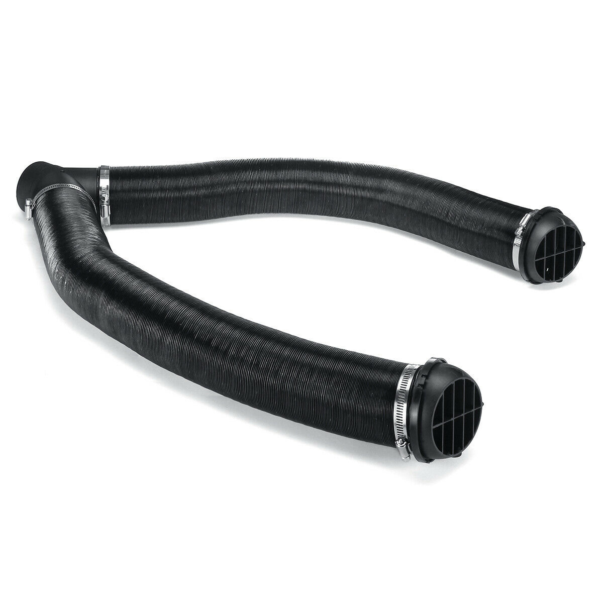 75mm Heater Pipe Duct Warm Air Outlet Vent Outlet Y Piece Branch Connector  ////