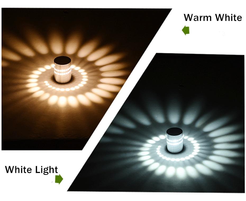 H359bd706365749419f69017439d43507l Modern LED Ceiling Light 3W RGB Porch Lamp Surface Mount Flush Lighting Fixture Balcony Corridors Living Room Decor