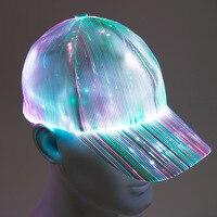 Comprar https://ae01.alicdn.com/kf/H359bd770198f4b538dcfd90eb1444d34o/Sombrero de fibra óptica LED RGB de 7 colores con batería integrada para conciertos DJ de.jpg