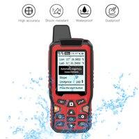 Medidor de área terrestre portátil con GPS, dispositivo medidor de área terrestre, pantalla LCD, 2.4in, herramienta de medición, telémetro láser