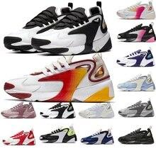 Белый, красный, Радужный тройной черный кремовый зум 2K M2K кроссовки Tekno гонки красный королевский синий темно серый для мужчин и женщин спортивные кроссовки