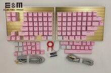 DK6 teclas magnéticas intercambiables, Macro programables, retroiluminación RGB, juegos de teclado mecánico, Cherry MX Kaih Box Switch