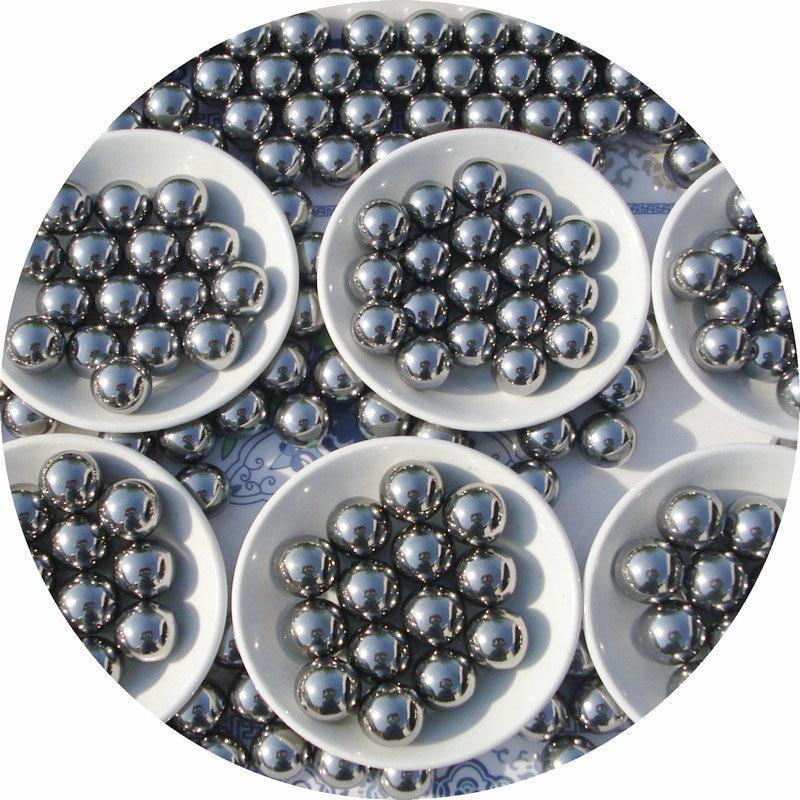 20pcs/lot  Dia 20mm Carbon Steel Balls 20 Mm Bearings Ball Slingshot AMMO Machinery Steel Ball