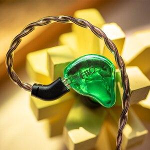 Image 5 - FiiO FH1s היי Res 1BA + 1DD (נואלס 33518,13.6mm דינמי) ב אוזן אוזניות IEM עם 2pin/0.78mm נתיק כבל פופולרי מוסיקה