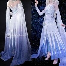 Frozen Cosplay Queen Elsa Cosplay Costume