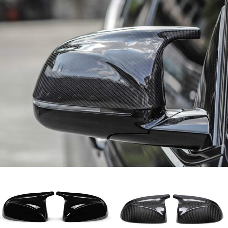 M look Крышка для зеркала из углеродного волокна для BMW X3 G01 X4 G02 X5 G05 Боковая дверь заднего вида крышки 2018 2019 2020 +