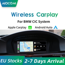 AIOCOAI Apple Carplay Wireless für BMW Mini CIC System 6.5/8,8 inch Bildschirm 2009-2012 Android-AUTO automatische Interface Decoder Box
