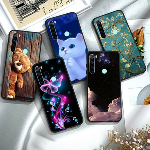 Silicone Soft Case For Xiaomi Redmi Note 8 Pro Case Redmi Note 8T 8 T 8A TPUBumper Case Redmi Note 8 Pro Case
