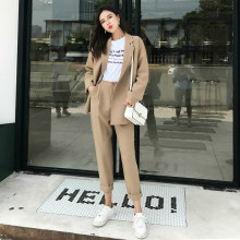 Fall 2019 New Fashion Simple Suit / Office Two Suits