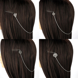 Kobiety Vintage Celtic Vikings szpilka Celtics Knot akcesoria do włosów Norse spinka do włosów Viking spinka do włosów dla kobiet Longhair Decor 1PC