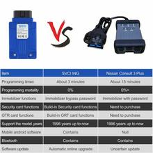 SVCI ING Infiniti/Nissan/GTR Professional Diagnostic Tool Support Programming Update Version ForNissan Consult 3 Plus