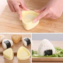 Ensemble de moules à Sushi, boules de riz, Onigiri, presse à Bento, outils de bricolage, accessoires de cuisine utilitaires, 3 pièces/1 ensemble