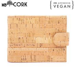 Natural rustic cork wallet for men BAG-610