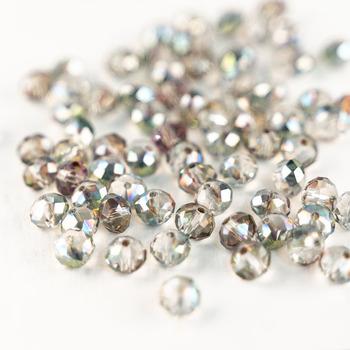 MH luźne koraliki cięcia szkła koraliki 3*4mm 4*6mm 6*8mm kryształowe koraliki szklane koraliki do biżuterii bransoletka naszyjnik DIY produkcji tanie i dobre opinie NONE B148 Moda Round Shape Glass