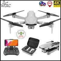 WLRC-Dron F3 4K, cámara Dual gran angular, 5G, WiFi, Control de 500M, distancia, cuadricóptero Rc con posicionamiento GPS, regalos para juguete para niños y adultos