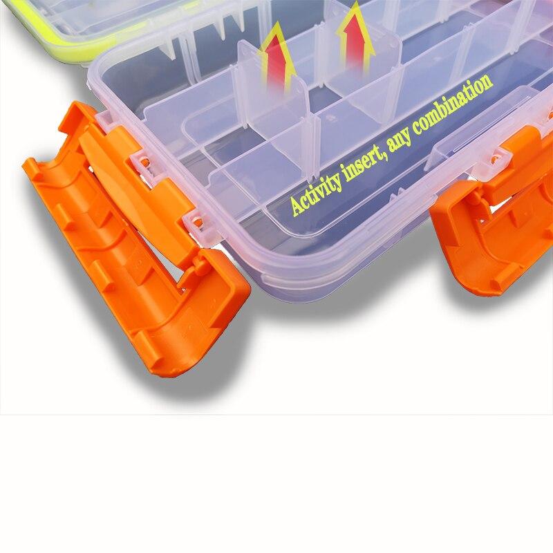 dwaterproof água caixa de plástico isca de