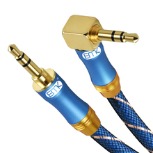 3.5mm Jack Audio Cable 3.5 Male to Male Cable Audio 90 Degree Right Angle AUX Cable for Car Headphone MP3/4 Aux aux cable 3 5mm jack male to male 90 degree right angle stereo audio cable for car mp3 mp4 headphone speaker computer smartphone