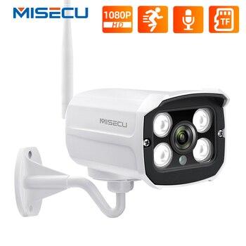 Misecu HD 1080P Wireless IP Camera CCTV Audio 2.0MP Bullet Security Wifi Night Vision Metal Waterproof Outdoor - discount item  54% OFF Video Surveillance