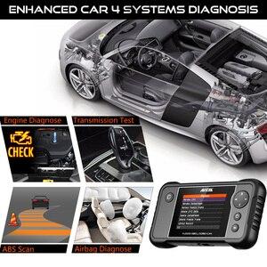 Image 2 - Ancel FX2000 Professional OBD2 เครื่องสแกนเนอร์ ABS SRS ถุงลมนิรภัยการวินิจฉัยเครื่องมือ OBD 2 diagnostics OBD Scanner