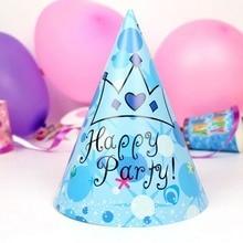 Olevovo Baby Shower Disposable Paper Cap Dinosaur Birthday Party Decorations Kids Birthday Peaked
