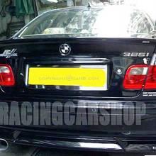 Неокрашенный ACS стиль спойлер багажника Подходит для BMW E46 седан 1998-2005 B008F