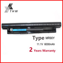 THW MR90Y Battery For DELL Inspiron 3421 3721 5421 5521 5721 3521 3437 3537 5437 5537 3737 5737 XCMRD With Tracking Number(China)