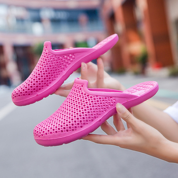 2020 women's casual Clogs Breathable sandals home valentine slippers summer slip on women flip flops shoes Clogs Sandalias Mujer 2017 summer clogs for women lovers sandals cut outs shoes woman slip on flats casual slippers women flip flops for ladies