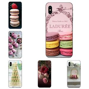 Paris Laduree Macaron Pattern Soft Phone Case For Xiaomi Mi Mix Max Note 2 2S 3 5X 6 6X 8 9 9T SE A1 A2 A3 CC9e Lite Play Pro F1