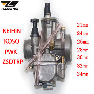 Image 1 - Zsレース 2t 4tユニバーサルkeihin koso okoオートバイキャブレターcarburador 21 24 26 28 30 32 34 ミリメートル電源ジェットレースモト