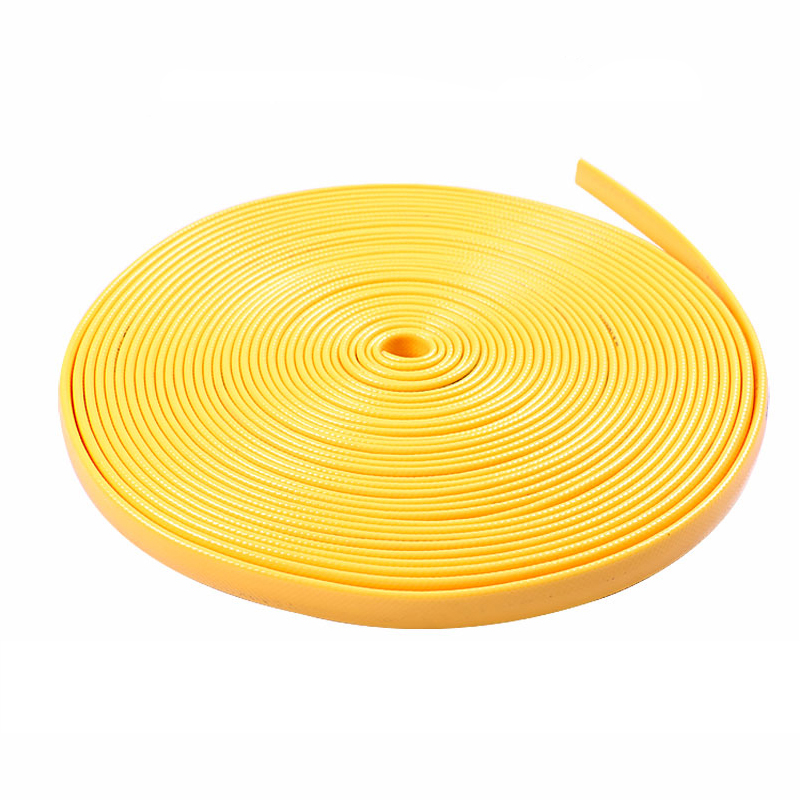 5-20m TPE Thicken Watering Hose Garden Flat Water Pipe Home Car Wash Water Gun Hose Garden Hose Greenhouse Irrigating System
