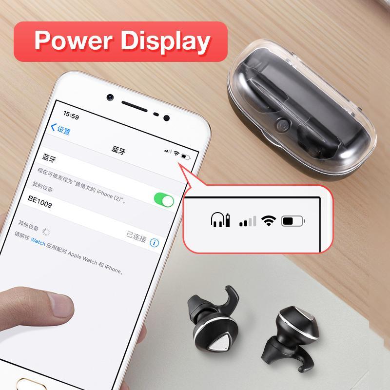 Wireless Earphones Bluetooth Headphones Sports Earbuds Stereo Headset Handsfree Auriculares For All Phones Xiaomi Samsung - 4