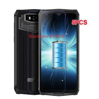 Перейти на Алиэкспресс и купить 2 шт., Blackview BV9100, IP68, закаленное стекло, 9H, защита для ЖК-экрана, закаленное стекло, пленка для Blackview BV9100