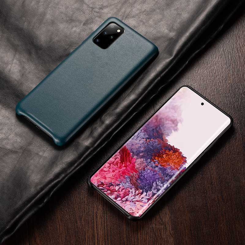 Luxury Retro PU Leather Case For Samsung Galaxy S20 Ultra Back Cover Case for Samsung S10 plus Note 10 Note 9 S9 Capa fundas