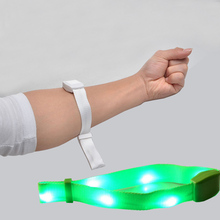 цены Music Sound Voice Controlled LED Light Bracelets Flashing For Music Event Party and Coffee Bar Pub Club free shipping 7pcs/lot