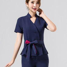 Spa uniform for beauty salon for the cosmetologist thai massage smocks for work