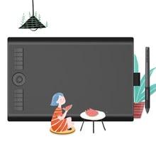 GAOMON M10K PRO 10*6.25 ''Pen Tablet Gráfico Drawing Board com 8192 Bateria-Free Stylus Suporte de Pressão função OTG