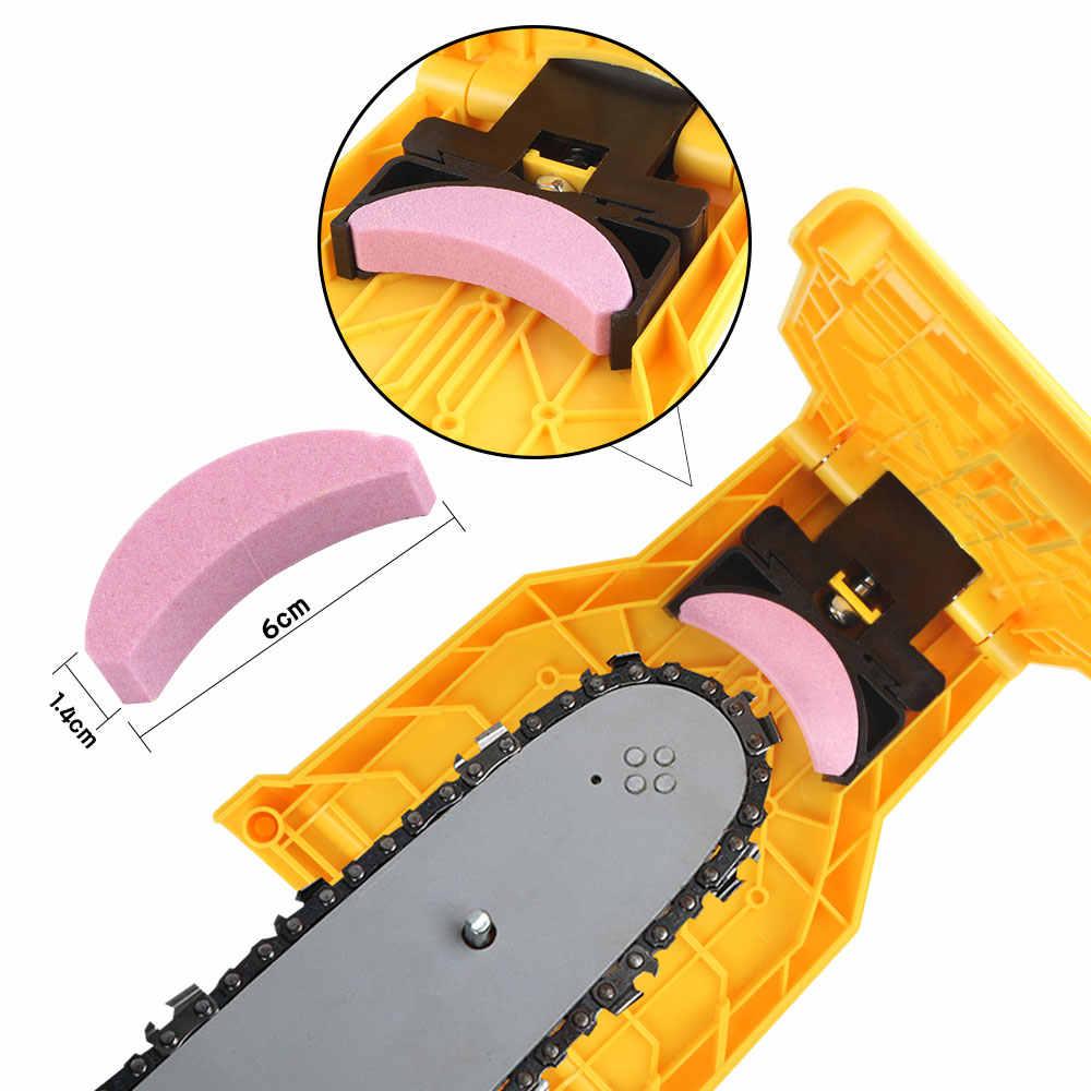 Ferramenta de Corte De madeira Motosserra Afiar Ferramentas de Pedra de Polimento de Peças de Máquinas Para Trabalhar Madeira Motosserra Dente de Serra