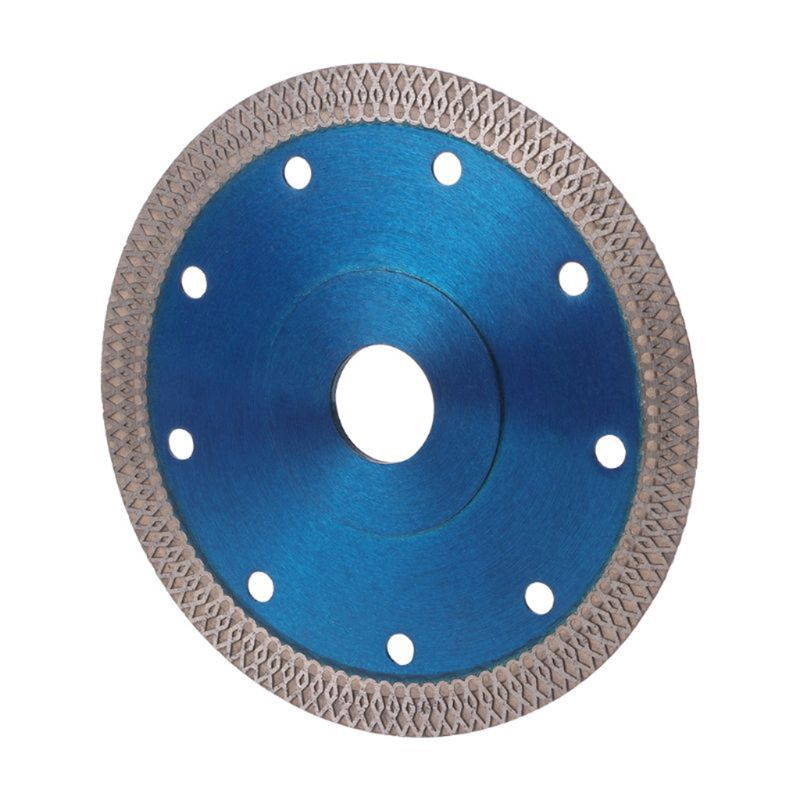 Blue Super Thin Diamond Ceramic Circular Disc Saw Blade 105/115mm/125mm Cutting 40JE