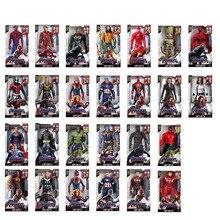 30CM Marvel Toy The Avenger Endgame Sound LED Light Super Hero Thor Hulk Iron Man Action Figure Model Toy Dolls Kid BoyGirl Gift