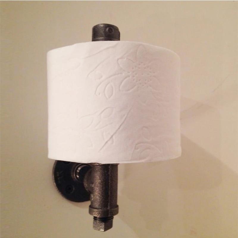 porte papier hygienique mural industriel antique accessoires de salle de bains wc cuisine porte serviettes en rouleau z24 offre speciale