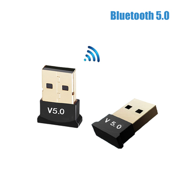 USB Bluetooth 5.0 Adapter Computer Wireless Audio Transmitter Receiver Fast Speed Dongle for Computer PC Laptop Tablet image