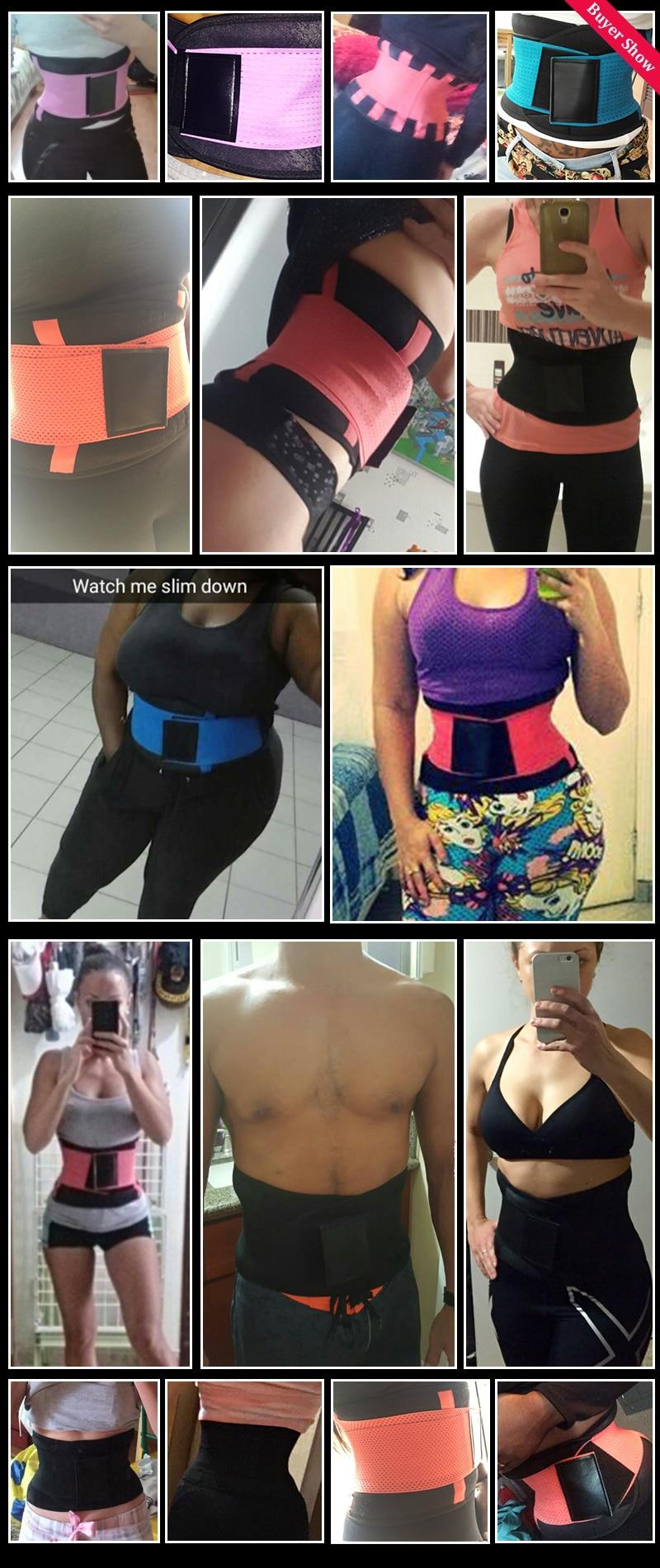 GVN Rocks Slimming Belt Girdles Body Shaper