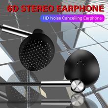 3.5mm Wired Earphone Super bass earphones 6D Stereo Headset with Mic Sport Earbu